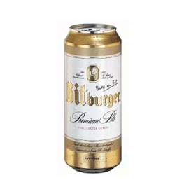 Bia Bitburger lon 500ml - Đức