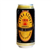 Bia Trio Extra Stout lon 330ml