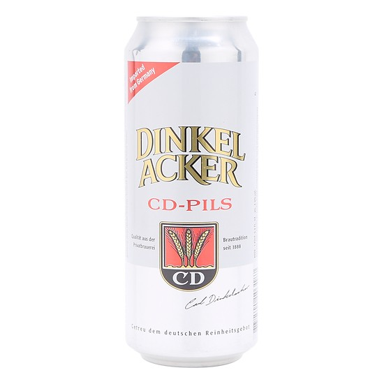 Bia Vàng Dinkelacker CD Pils 24*500ml(Lon)